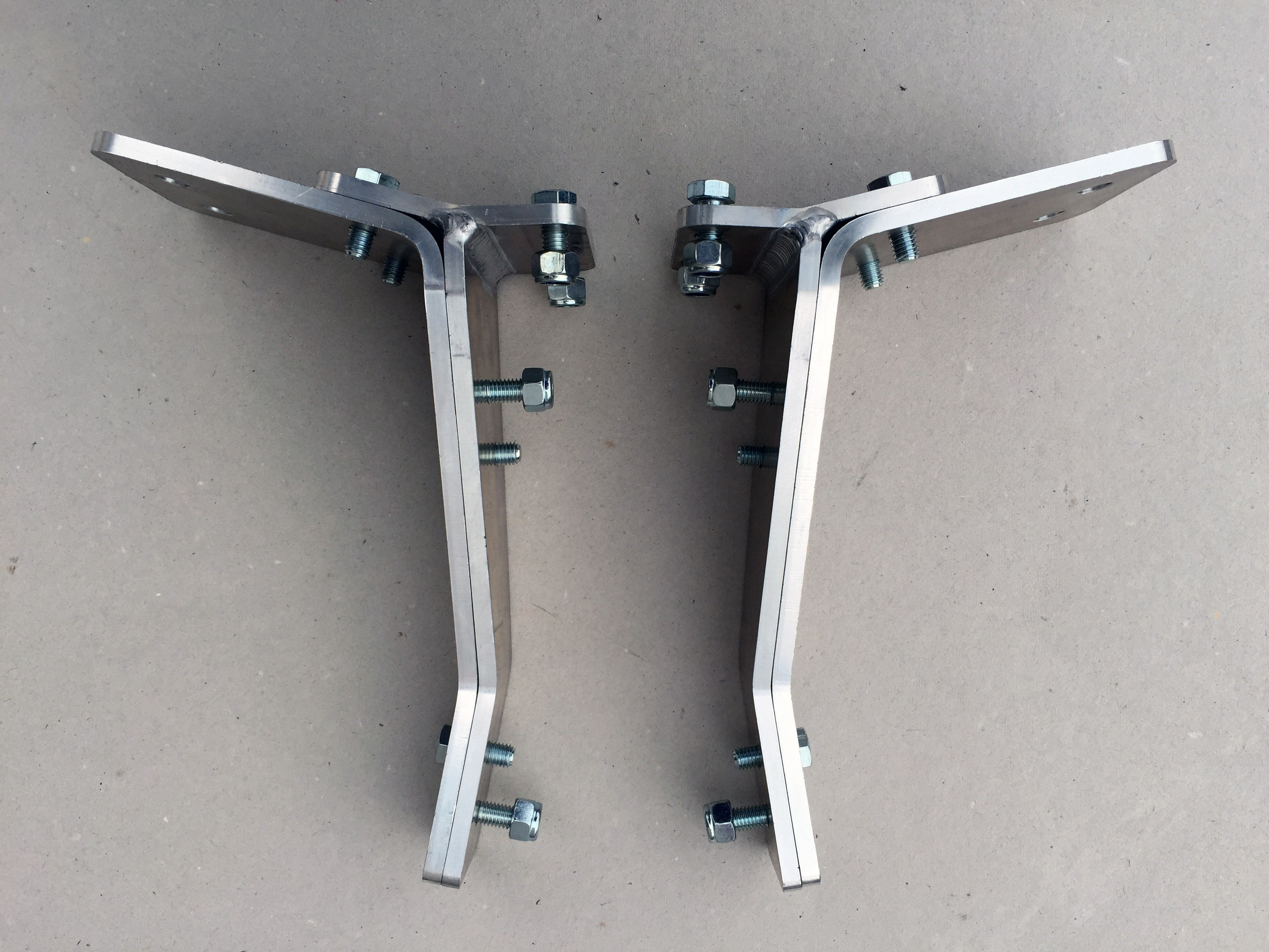 Ford Mk1 Escort Lamp Brackets