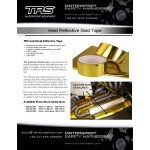 TRS Gold Heat Reflective Tape (4.5 metres)