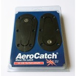 Aerocatch Bonnet Pins - Black / Locking