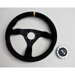 3 Spoke Flat Steering Wheel (inc horn button)