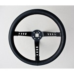 Works Type Deep Dish Leather Steering Wheel